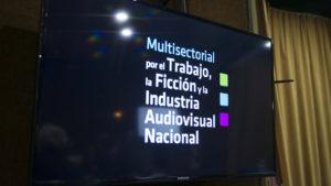 Multisectorial por el Trabajo, la Ficción y la Industria Audiovisual.