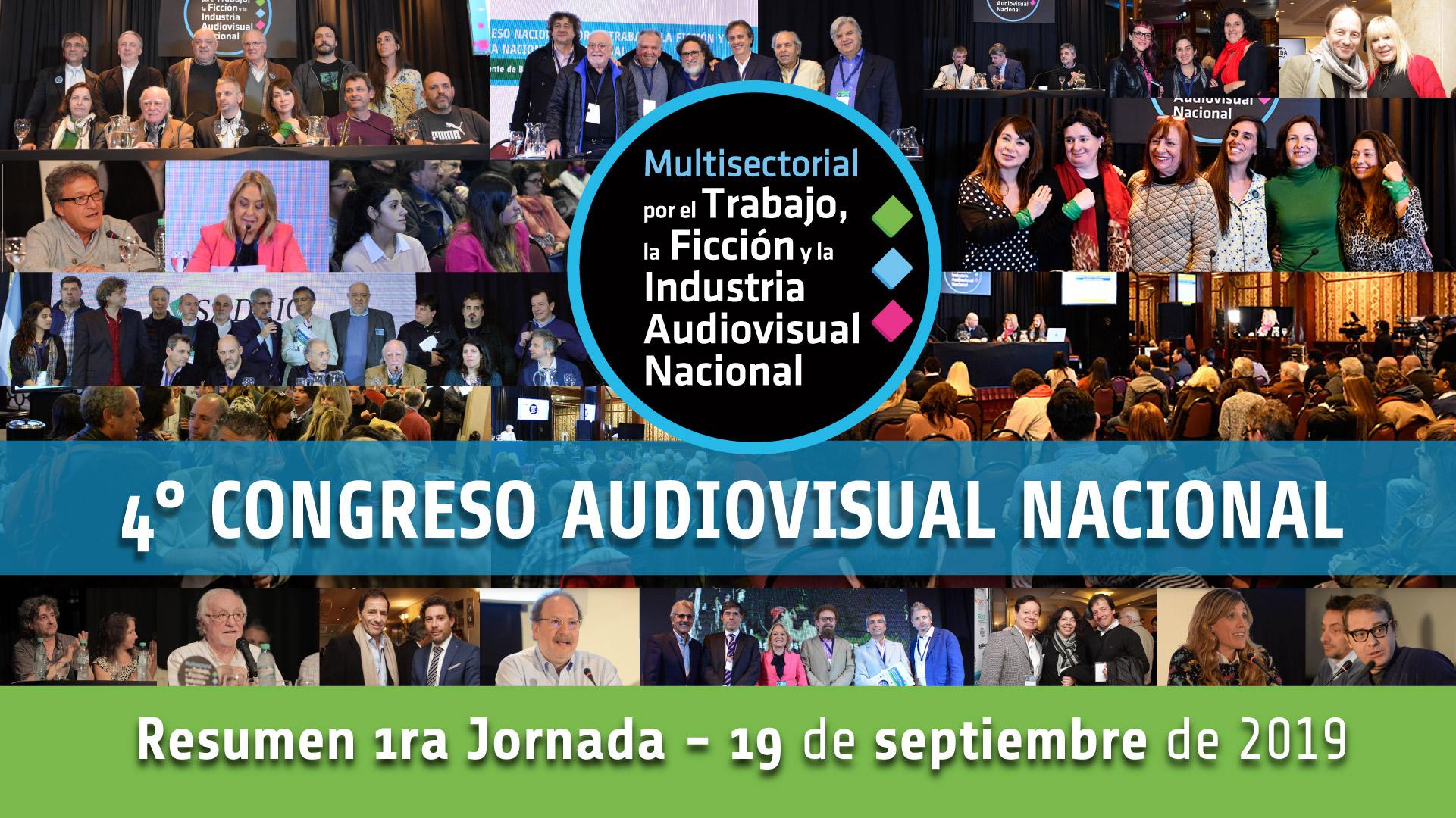 Video resumen jornada día 1 – 4° Congreso Audiovisual Nacional