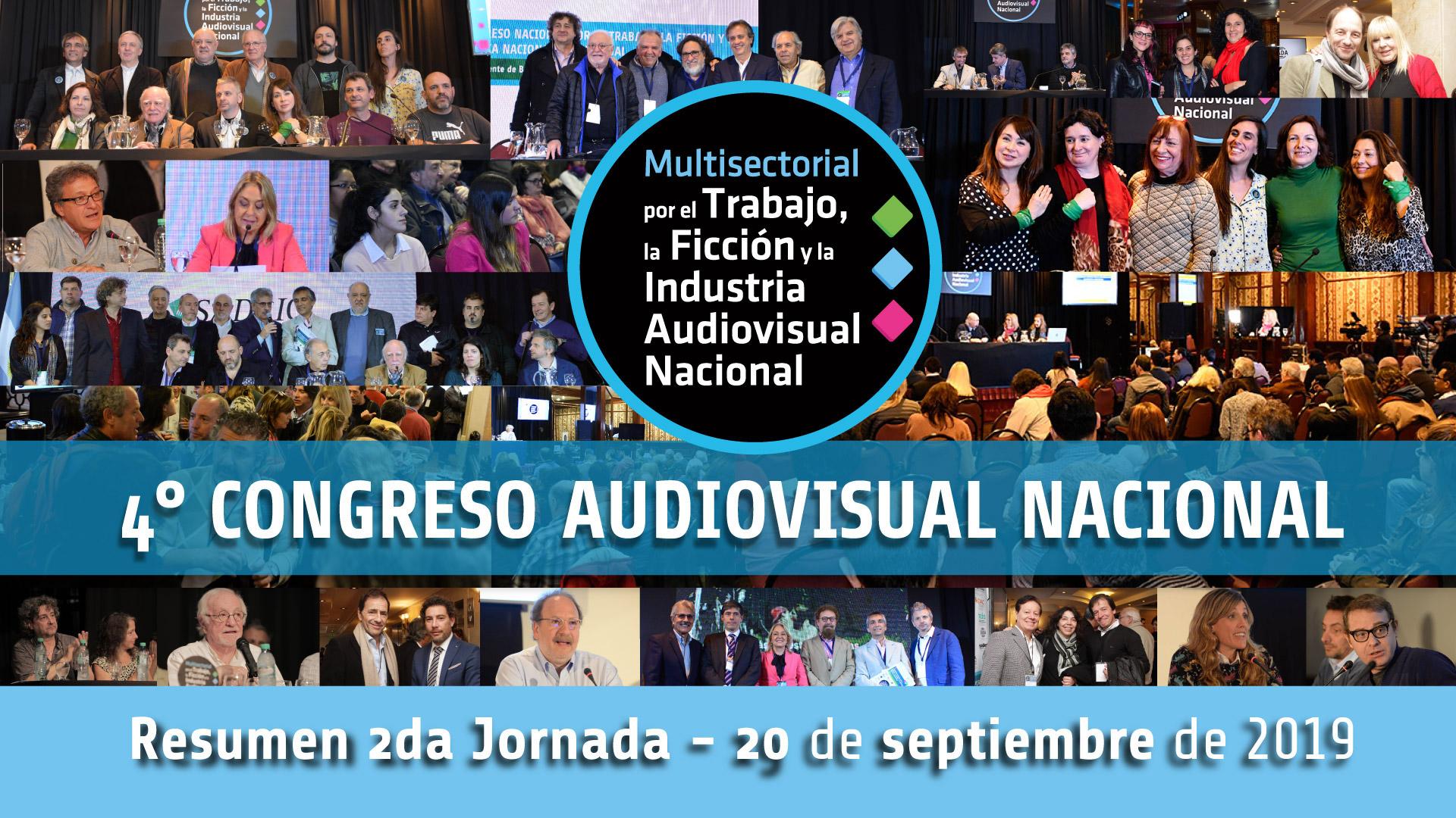 Video resumen jornada día 2 – 4° Congreso Audiovisual Naciona