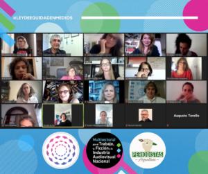 #EquidadenMedios + Periodistas web